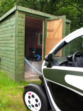 Abercynafon Hydro and Twizy comp