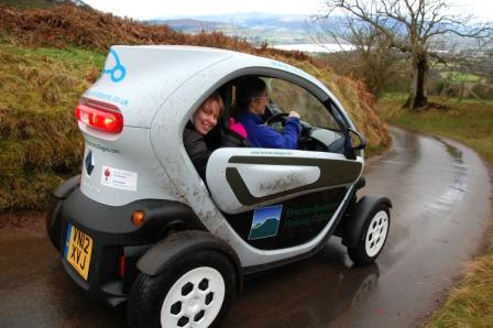Thumbs up for Twizy